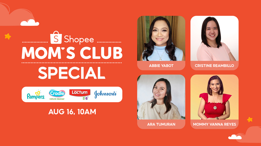 Get Expert Parenting Tips and Win Exciting Prizes at the Shopee Mom's Club Special