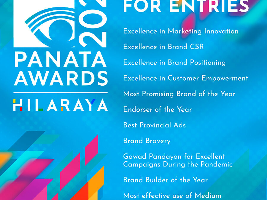 Call for Entries for the PANAta Awards 2021 Now Open