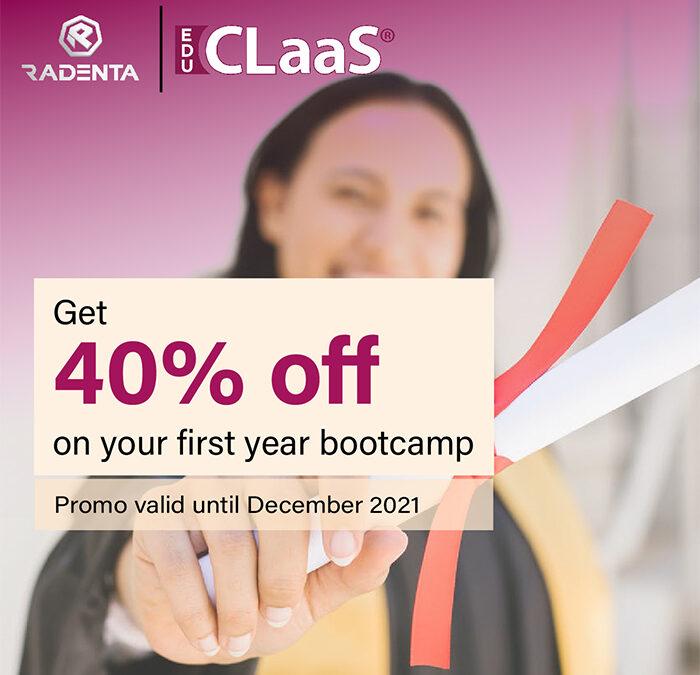 Radenta-eduCLaaS Offer Discount on Digital Learning Courses