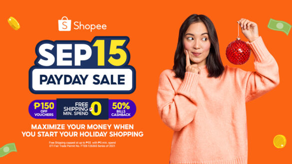 5 Easy Ways to Maximize Your Money When You Start Your Holiday Shopping at Shopee's Sep 15 Payday Sale