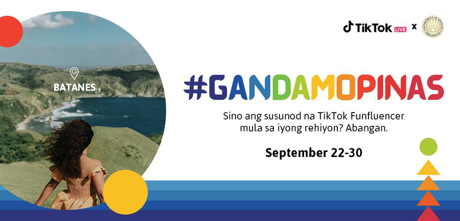 DOT and TikTok launch #GandaMoPinas Campaign  as local borders reopen