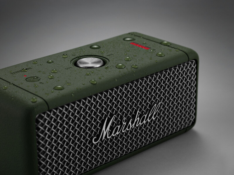 The Marshall Emberton is NOW AVAILABLE in LIMITED EDITION Forest colorway!