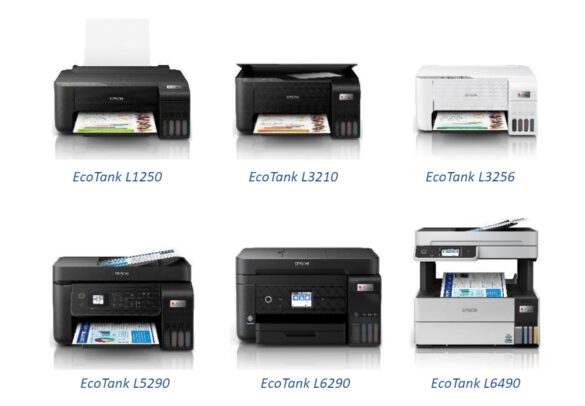 Epson unveils sustainable line of EcoTank printers with enhanced functions for high print performance