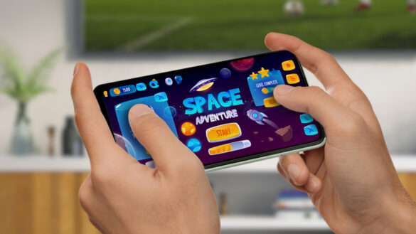 Take gaming to the next level with the SAMSUNG Galaxy A22 5G