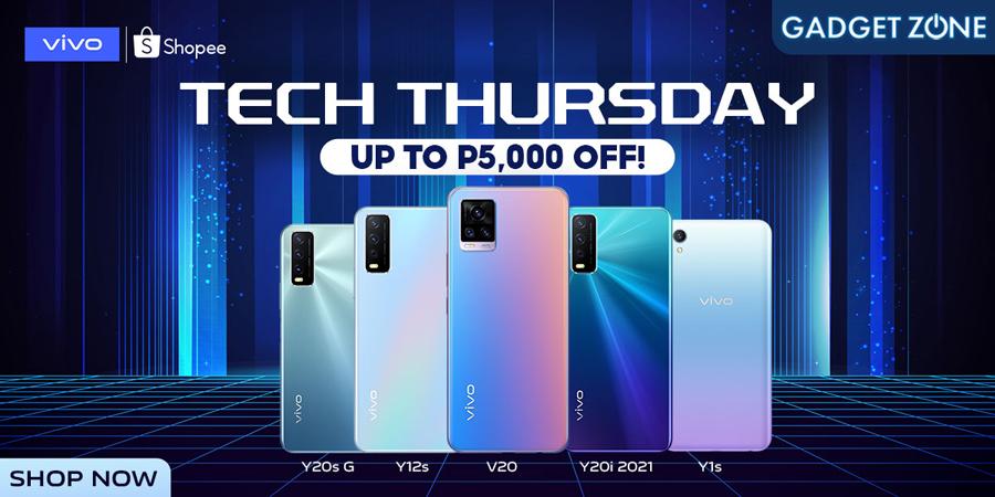 Get the best vivo deals on Shopee Tech Thursdays