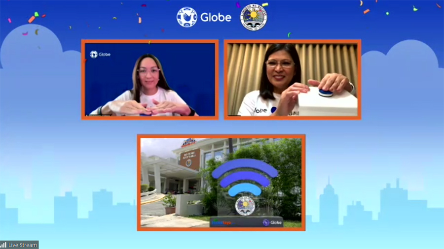 Globe's digital services keep Bacoor residents safe, informed and connected