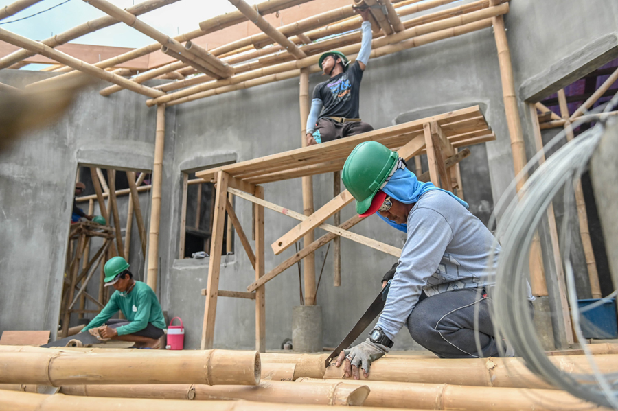 Base Bahay Builds Better Homes--with Bamboo