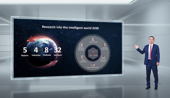 David Wang releases the Intelligent World 2030 report