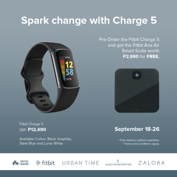 Spark change with Charge 5
