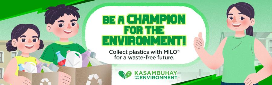 MILO champions plastic neutrality to achieve a waste-free future