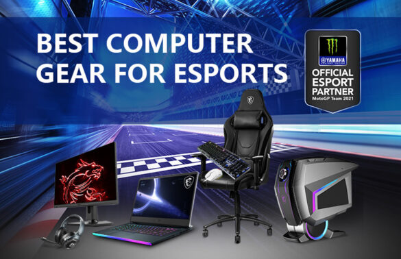 MSI and Monster Energy Yamaha MotoGP eSport Join Forces In Endless Quest for Ultimate Performance & Precise Control