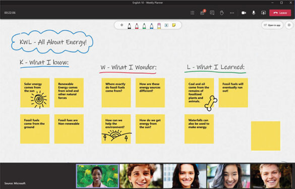 Microsoft Teams for Education or Teams, put together classes, meetings, assignments, presentations, files and collaborations in one place. It is a scalable, easy to use, intuitive student-centered technology.