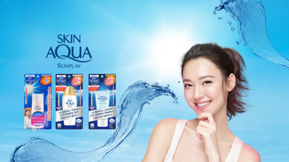 Sunplay Skin Aqua has got you covered, whether indoors or outdoors