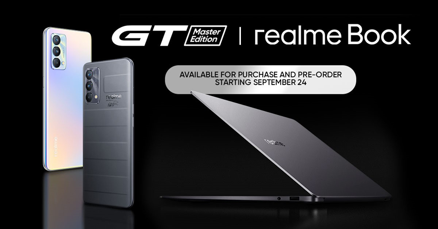 realme launches GT Master Edition and realme Book, available starting September 24th