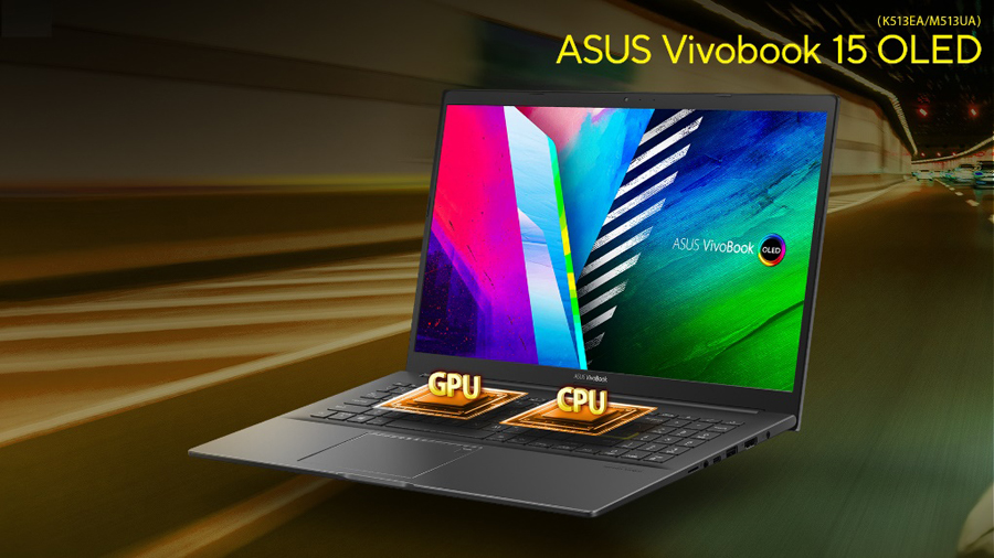ASUS unveils first Vivobook laptop with OLED display