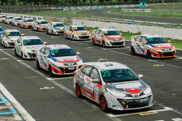 Catch the 2nd Leg of the heart-racing motorsports series TOYOTA GAZOO Racing Vios Cup this weekend!