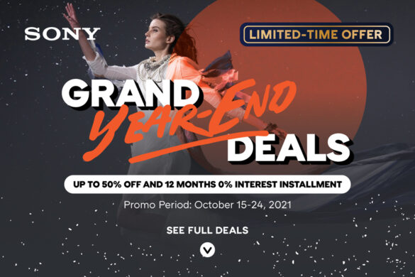 Sony Digital Imaging gears up to 50% off in its Grand Year-End deals happening this October
