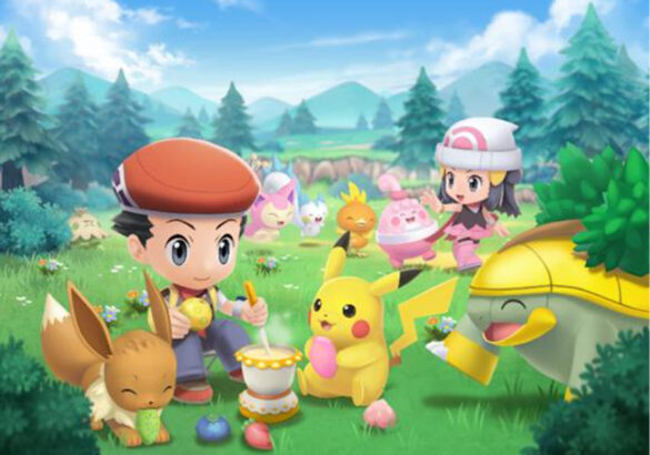 Here comes more updates and features of Pokémon Brilliant Diamond and Pokémon Shining Pearl