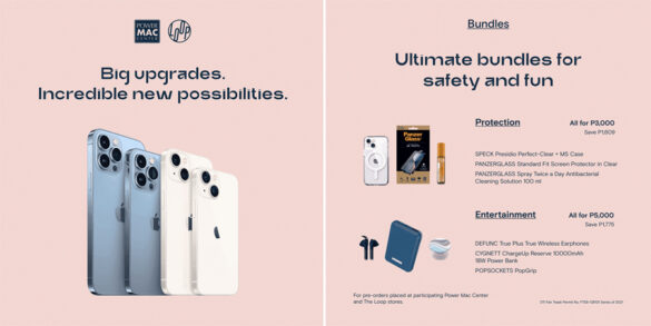 Last 3 days to pre-order the new iPhone 13 at Power Mac Center