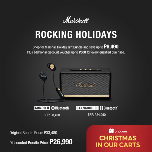 Marshall Rocking Holiday