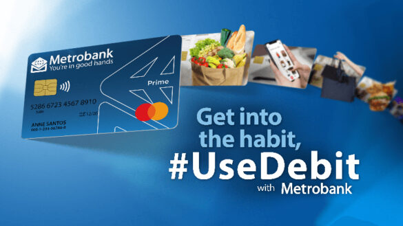 Convenient and rewarding, a debit card allows contactless but secured payment methods and at the same time, gives you access to exclusive perks and promos.