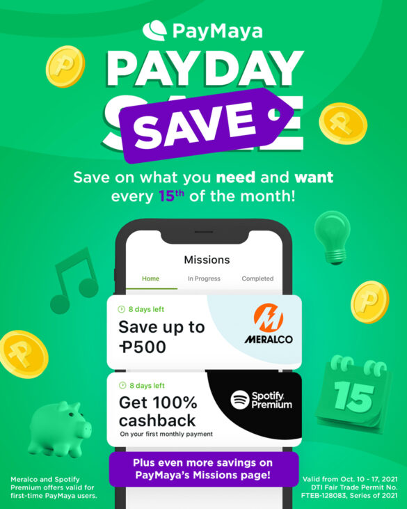PayMaya Press Release: Turn PayDay Sales into PayDay Save with PayMaya