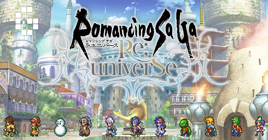 AKG Games is SQUARE ENIX's Official Promotion Partner for Romancing SaGa Re;univerSe – a Classic JRPG on Your Smartphone!